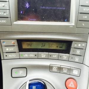 prius- air conditioner in car
